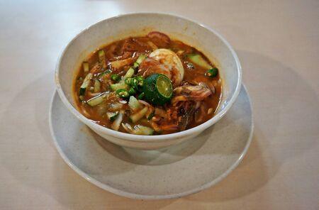 laksa: Malaysia food - Laksa