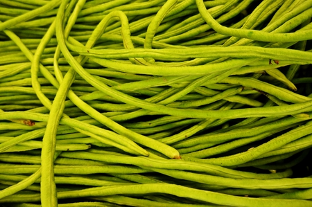 long beans: long green beans