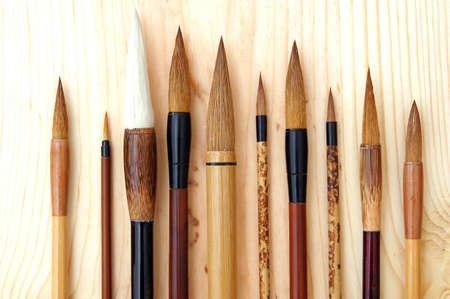 Chinese, Japanese, and Korean brush