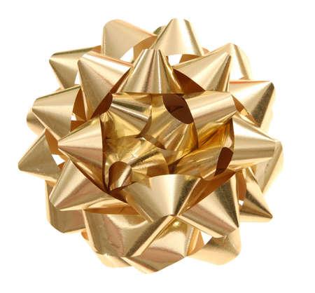 golden bow Banco de Imagens