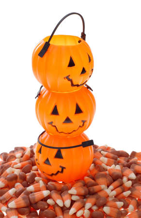 pumpkin candy holder photo