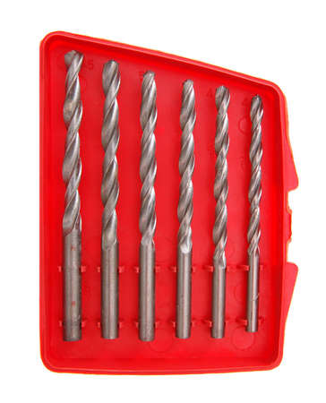 drill bit set Zdjęcie Seryjne