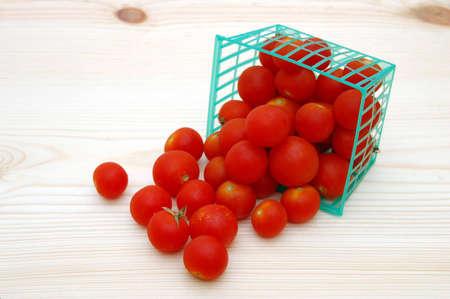 grape tomatoes Stok Fotoğraf
