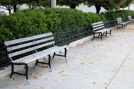 empty bench Stok Fotoğraf