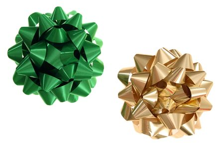 Christmas bow Stok Fotoğraf