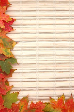 frame decoration for autumn season