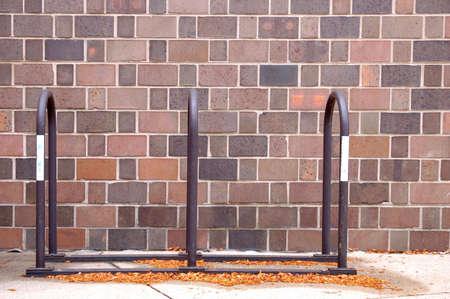 bike rack Stok Fotoğraf