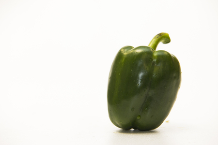 palatable: Green sweet peppers Fresh and palatable.