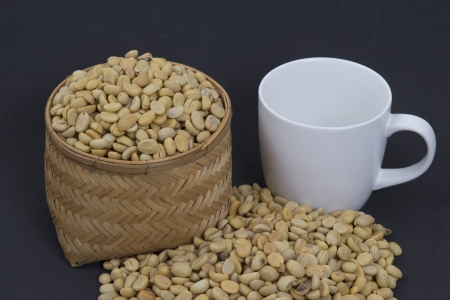 Coffee beans , cherries  Stock Photo - 25486343