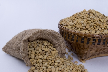Coffee beans , cherries Stock Photo - 25486246