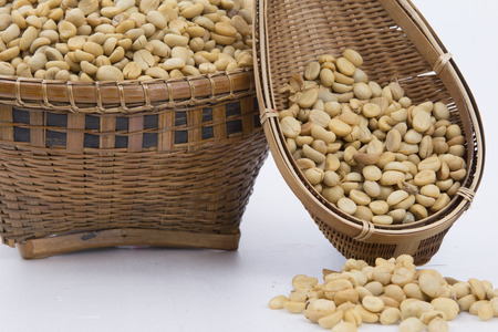 Coffee beans , cherries Stock Photo - 25487347