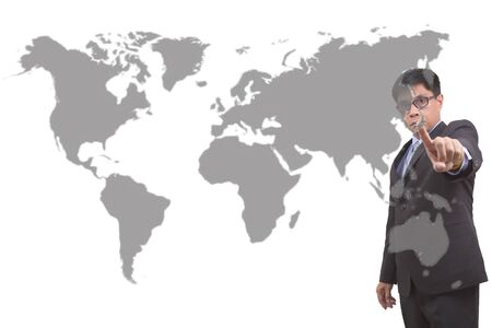 predicted: Analysts point goal is JAPAN. Stock Photo