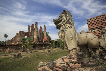 historic sites: Ayutthaya Old Town filled with historic sites.
