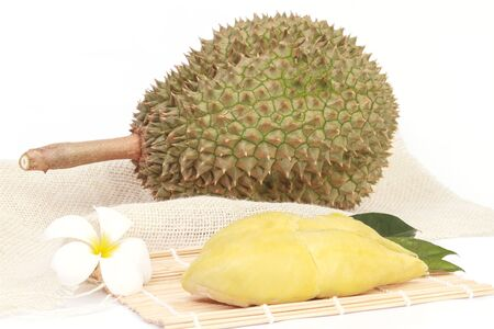 sweet pulp: Thailand fruit from the garden. isolated on white background.