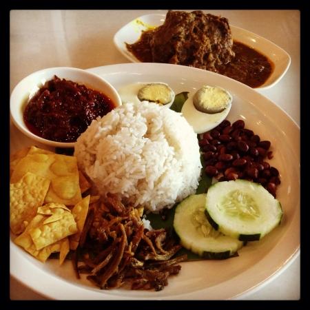 lemak: Nasi lemak specialty in Malaysia