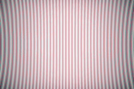 aberrations: Old texture of curved vertical curved lines. Pink color. With chromatic aberrations
