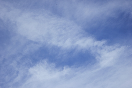 cirrus: Blue sky with some white cirrus clouds