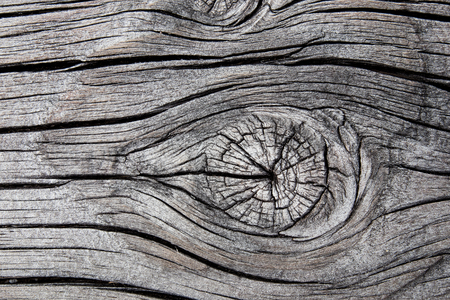 Gnarl and hardwood pattern showing stretch marks