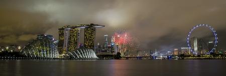 singapore national day celebration fireworks