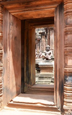 Banteay Srey temple in angkor