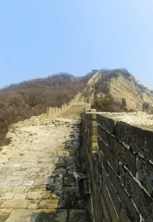 great wall of china unrestored