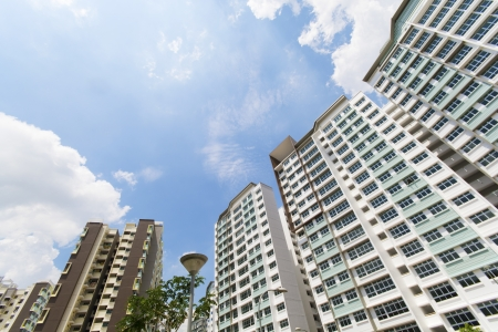 New Singapore government appartments Stock Photo - 20449551