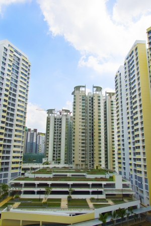 New Singapore government appartments Stock Photo - 20449552