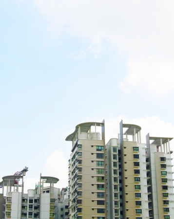 New Singapore government appartments Stock Photo - 20449542