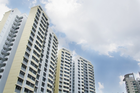 New Singapore government appartments Stock Photo - 20449548