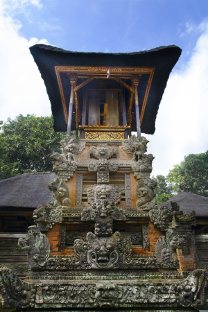 Monkey Temple in Bali Monley forest