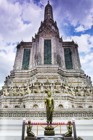 The temple of wat Arun in Bangkok Thailand