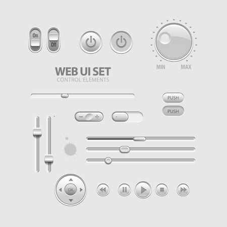 Web UI Elements Stock Vector - 13751238