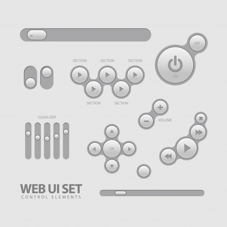 clean off: Web UI Elements