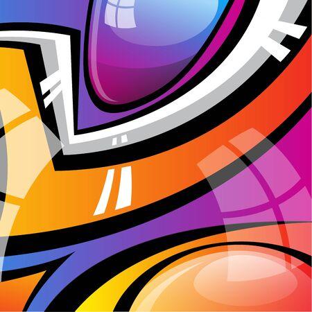 leaflet design: Abstract Cover Design