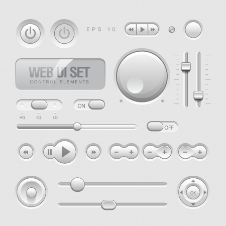Web UI Elements Stock Vector - 16161206