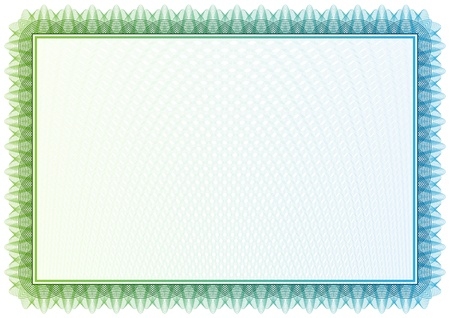 pattern that is used in certificate, currency and diplomas