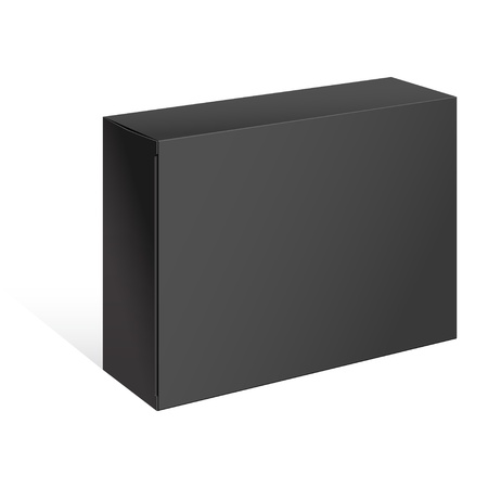 blank box: Black Box  For Software, electronic device and other products  Illustration