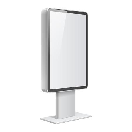 vertical: Plantilla de la caja de luz realista