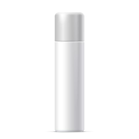 odors: Realistic White Cosmetics bottle can Spray