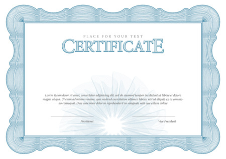 Certificate award background gift voucher template diplomas vintage certificate award background gift voucher template diplomas currency vector illustration vector yadclub Image collections