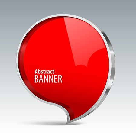 volume discount: Shiny gloss red vector banner.