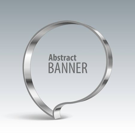 volume discount: Shiny metal vector banner. eps 10
