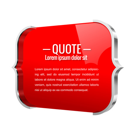 parentheses: Parentheses sign. Quote, message Shiny metal banner. For Your Design. Vector illustration.