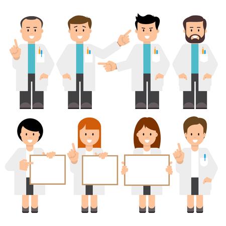 Doctors, scientists.