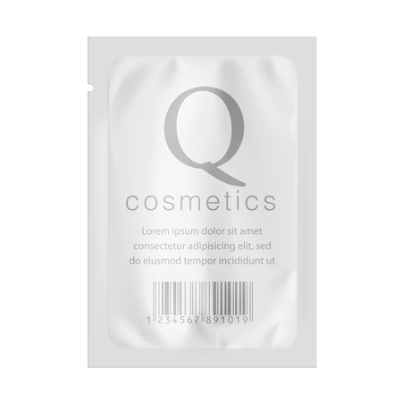 Realistic White template Packaging