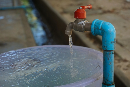 The tap is not closed completely overflow out of the container at any time is lost by not necessary resources and cost.