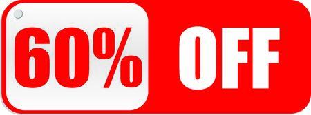 60 Percentage  Off Vector Graphics