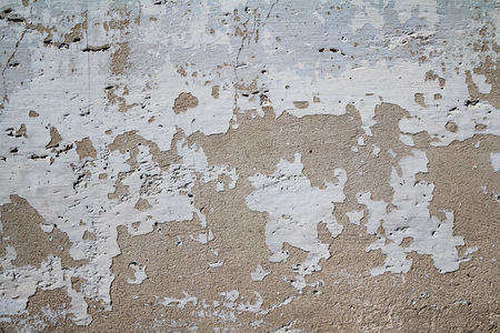 Cracked white wall surface texture