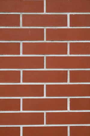 Red brick wall surface texture