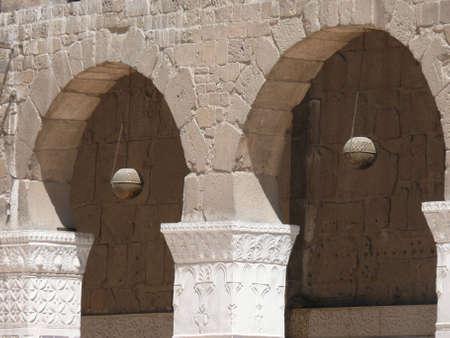 damascus: Arched arcade, Al-Umayyad Mosque, Damascus, Syria
